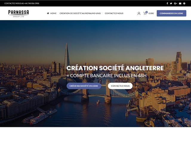 création site internet Création de Société Royaume-Unis.fw