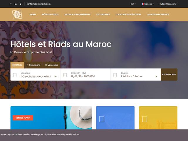création site internet EasyRiads.fw